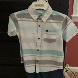Calvin Klein's boys outfit size 4 not a four T